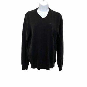 Calvin Klein Unisex Black Merino Wool Sweater